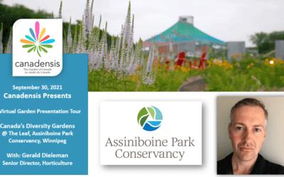 Canadensis Presents: A Virtual Visit to Diversity Gardens @ Assiniboine Park Conservancy